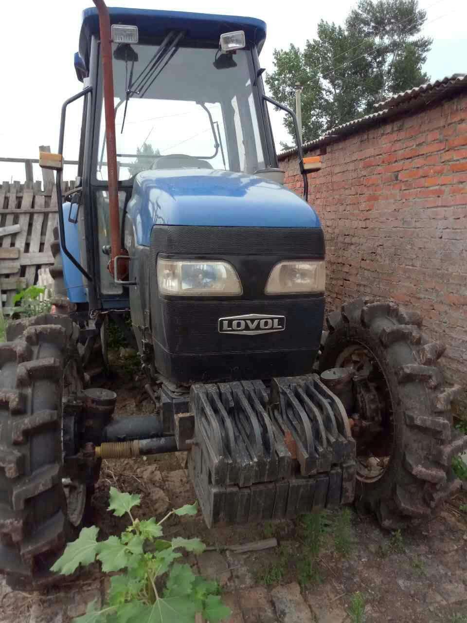 出售2012年雷沃欧豹m554拖拉机