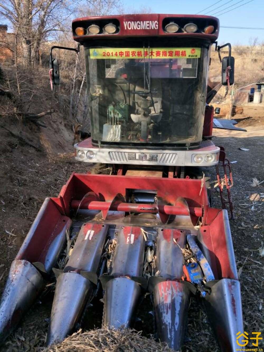 勇猛4行玉米收割机