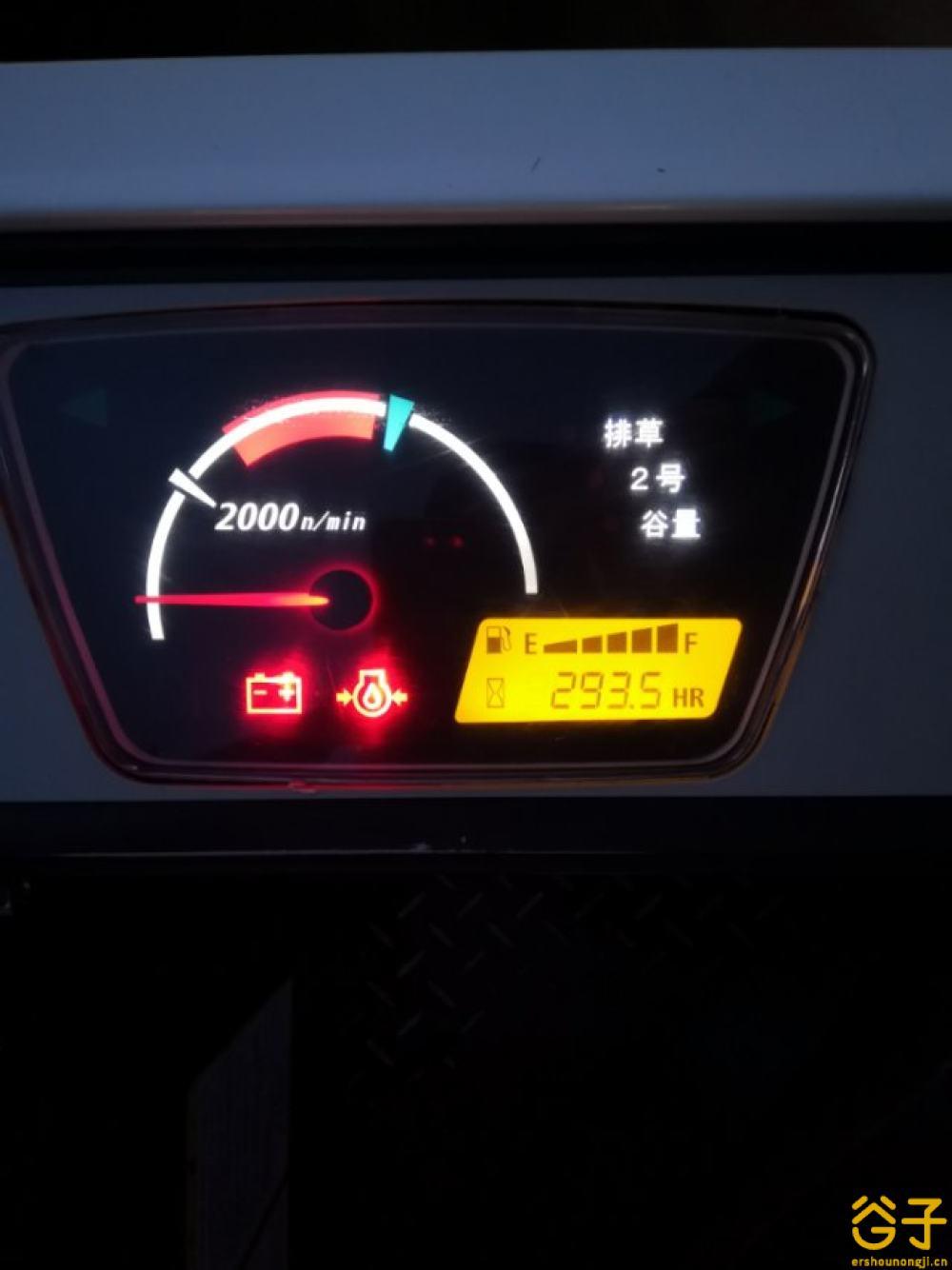 久保田588l收割机