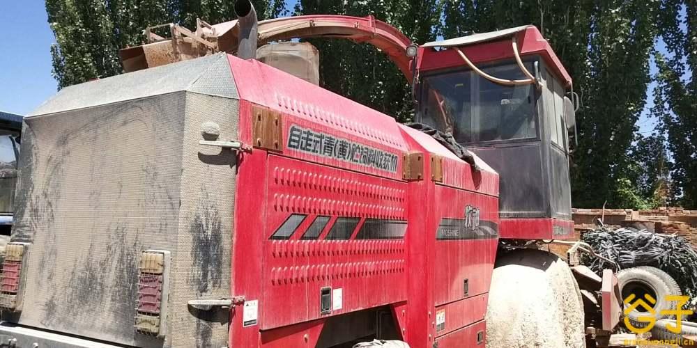 牧神4QZ-3000A型自走式青(黄)贮饲料收获机