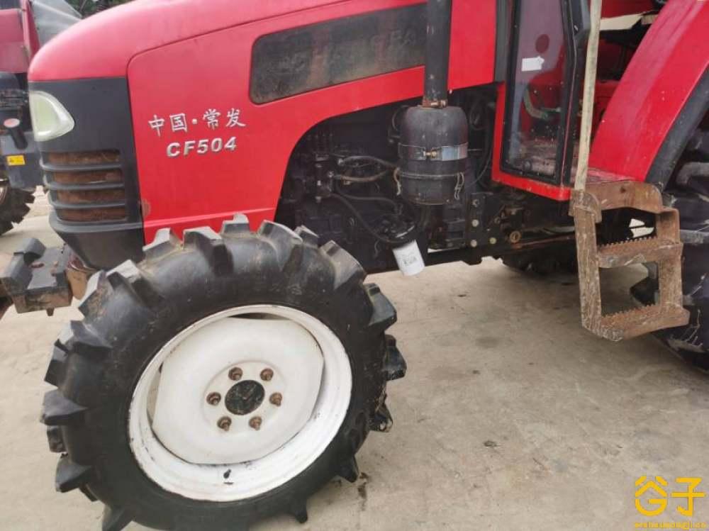 常发504小型拖拉机