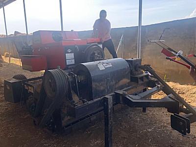 二手银锚9Y90-2.4玉米秸秆打捆机