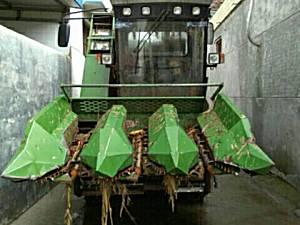 谷王4yz-3g玉米收割机