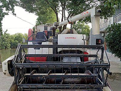 洋马70G全喂入稻麦联合收割机