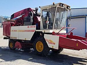 沃得CH530玉米收割机