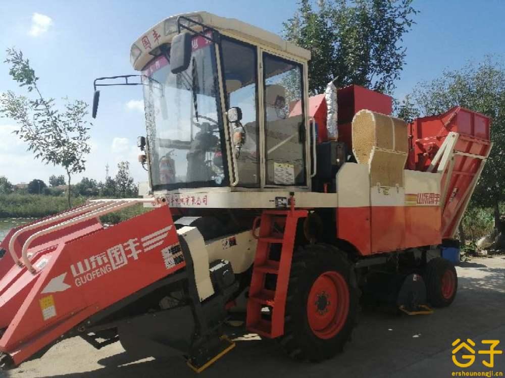 国丰3行玉米收割机