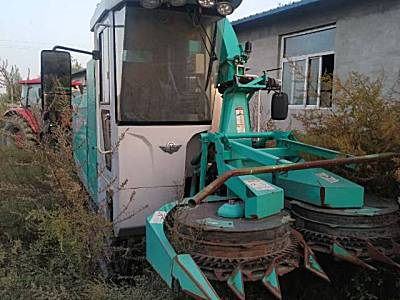 五征4QZ-350自走式青饲料收获机