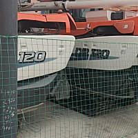 久保田DR120收割機