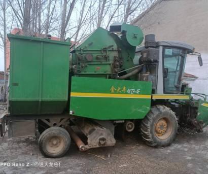 金大丰4YZP-4F玉米收获机