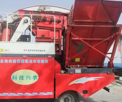 唐山利军4YZQ-7型自走式茎穂兼收玉米收获机
