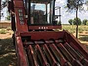新疆牧神4YZT-7型自走式玉米籽粒收获机