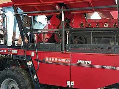 牧神4YZB-3A茎穗兼收玉米收割机