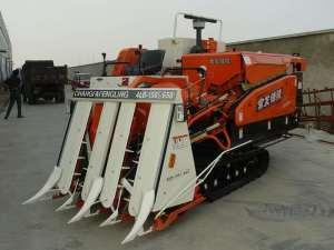 出售2013年锋陵4LB-150半喂入水稻收割机